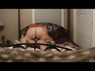 BBW wife fucked on real homemade