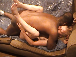 Little Wife Takes On BBC Bareback -- Hubby Films