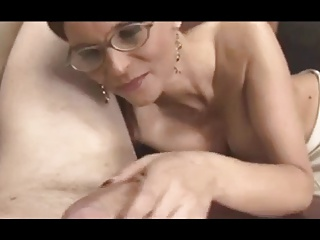 Cougar Handjob #4 (On The Couch)