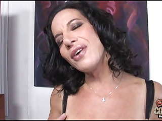 Mature mom Melissa cheating with BBC on her wedding