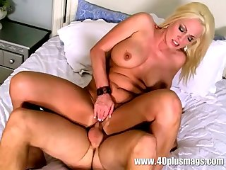 big titted 44 year old Blonde