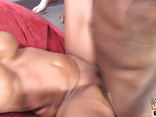 Granny and daughter fucked and creampied by black bro