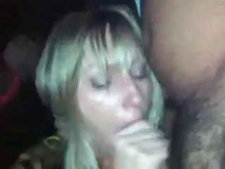 Swinger wife joins interracial party