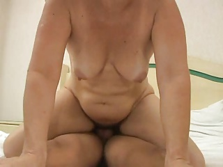 Slim mature blonde