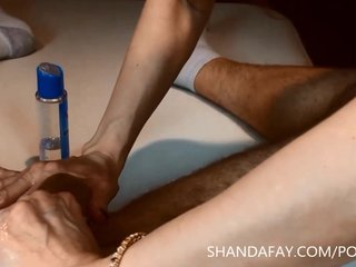 Pegging Massage By Canadian MILF Shanda Fay!