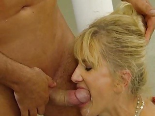 Very attractive mature blonde