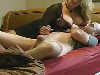 Mom with big boobs & guy