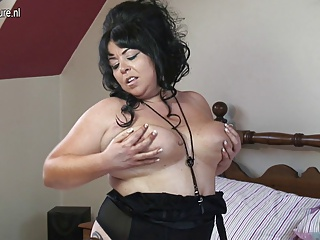 Big breasted mature naughty mother