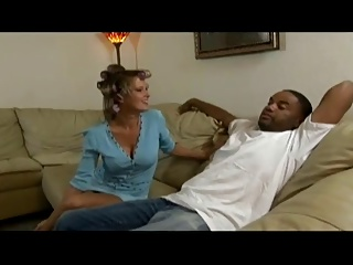 Mature housewife put her hands on BBC