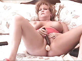 Wife enjoys multiple with toy