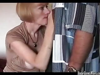 Thick boob light-haired fledgling cougar creampied in homemade penetrate movie