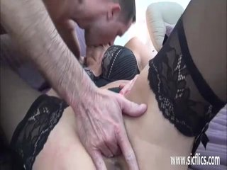 Hot mature fisted and fucked till she squirts
