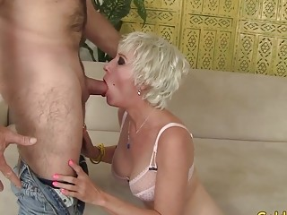 Incredible granny Dalny Marga Gets plumbed intensively by an elderly guy