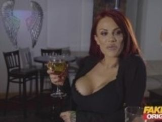 """""""Fake Pub Hotwife PAWG MILF shared with BBC in mature threesome creampie"""""""