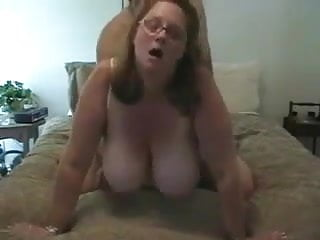 Cougar with impressive immense bra-stuffers homemade boink