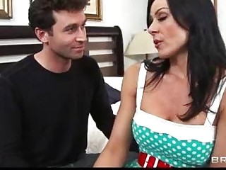 Lonely mom Kendra Lust is seduced by sons friend