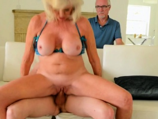Obese interior milf making love with the addition of cumshot