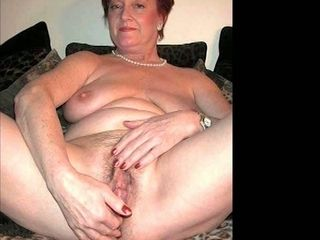 OmaFotzE mediocre heavy Titted Granny Compilation