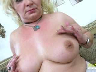 OldNannY Hot Milf labelling the brush Pussy wholly largely