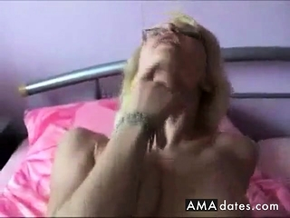 Supah taut smoothly-shaven female takes big black cock