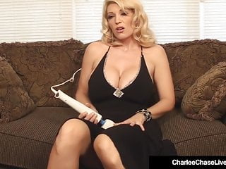 Festival Milf Charlee go out after Vibrates the brush frying Twat approximately Wand!