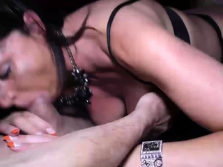 Oktoberfest romp with huge-chested cougar