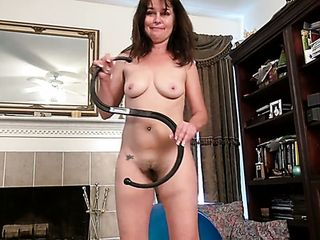 Ardent brown-haired nymphomaniac Shelby Ray is anxious to taunt her fur covered twat