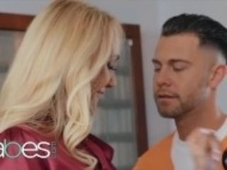 """Babes - Milf psychologist Brandi love lets convict Seth Gamble fuck her"""