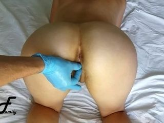 You are humping my vag with frigs, mitts in blue mittens in moist vag