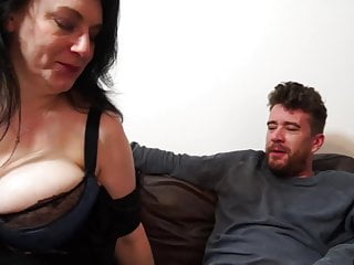 Big-boobed innate mature mummy gets rock hard fuck-fest