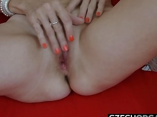 Wish cougar Reached strong climax