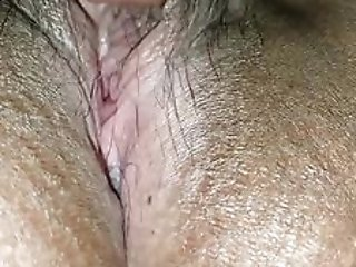 Closeup of me eating a really juicy and wet pussy