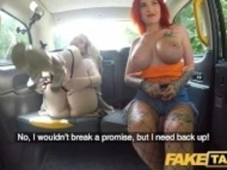 """Fake cab Alexxa Vice and Pixi Peach in sloppy ass nailing nailing cab foursome"""