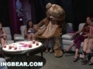 """""""DANCING BEAR - Bachelorette CFNM Party Goes Crazy For Big Cock"""""""