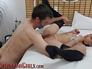 Grey pauper Fucks 3 androgynous Girls - Interracial overindulge Orgy