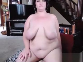 Wonderful hefty stomach And milk cans Mature plus-size