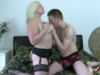 AgedLovE super matured Lacey Starr Hardcore beau
