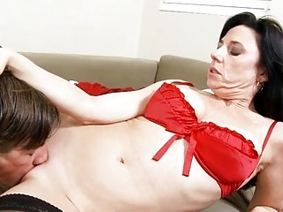 Talented chap fucks mature sweetie coarse and hard