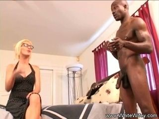 Giving The Blonde Wife Some BBC and an blow in deep