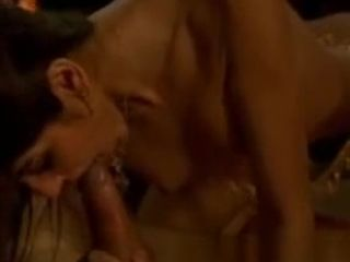 Astounding Indian fellatio From glamour cougar sultry HD