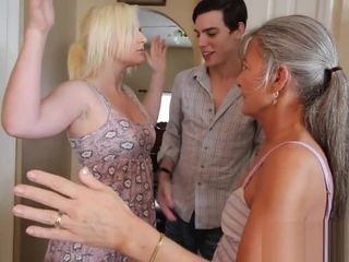 Freeze and Shut Up - 3some Taboo desire