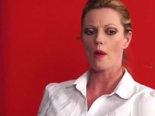 Cockcraving cfnm milfs wanking off lucky guy