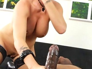 Hugest black dick for one pretty hot mature lady
