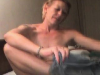Mature ash-blonde rubbish tramp fellating manhood For violate money point of view