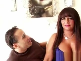 Hefty breasted Mature hoe Gets penetrated