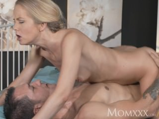 MOM Cutie lets British stud deep inside her soft wet and warm pussy