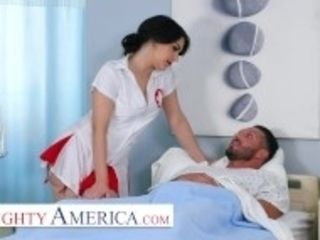"""""""Naughty America - Nurse Valentina takes additional care of her patient"""""""
