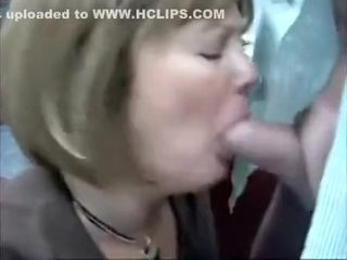 Milf go wool-gathering is fair-haired provides affectionate blowjob give some generous