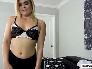 Laconic titted MILF parent fucked wits say no to stepson