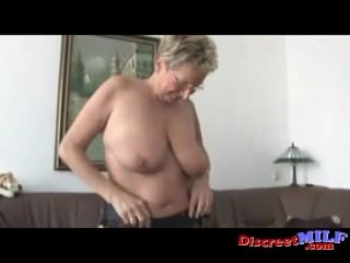 Euro Granny With Glasses Gets Fucked